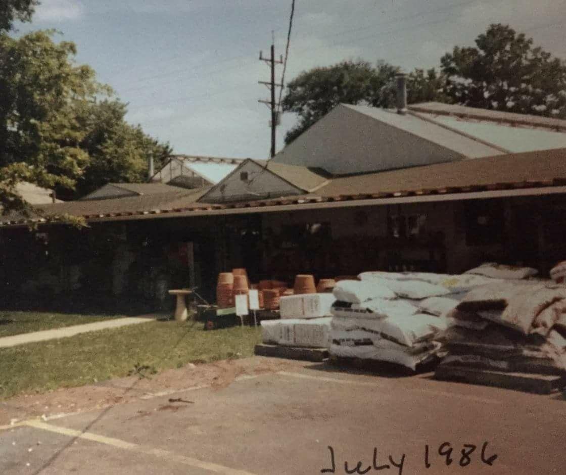 Berns Garden Center On Main St 1986