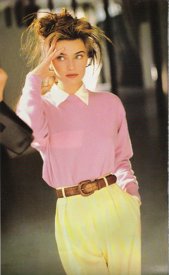 bright colors in the 80's in 2019  80s fashion 1980s