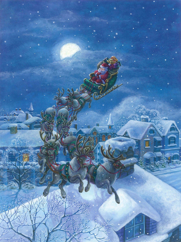 012 Elaine Maier Christmas Eve Cartoon drawings