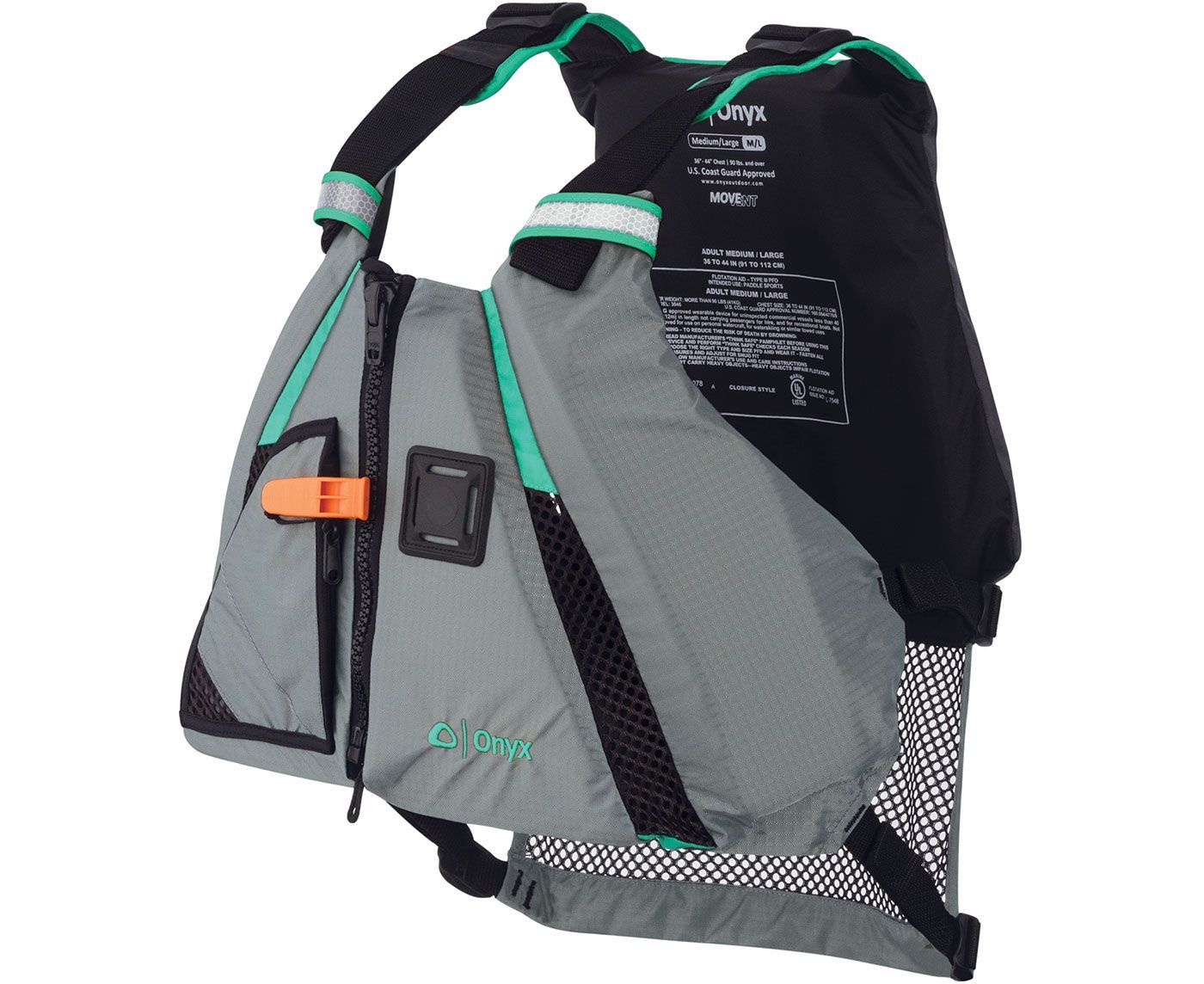 Onyx MoveVent Dynamic Life Vest Kayak accessories