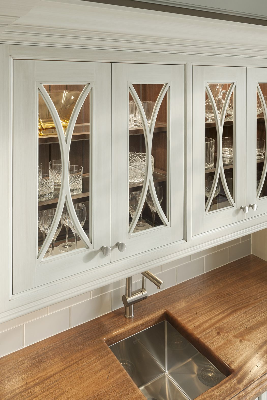 Gothic Mullion Inserts As Shown In Embassy Row By #WoodMode.