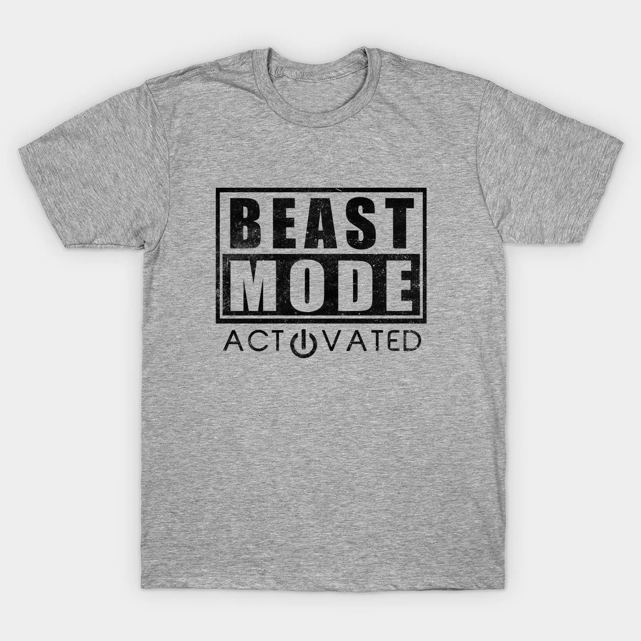 Beast Shirt Mode Gym Workout Weightlifting