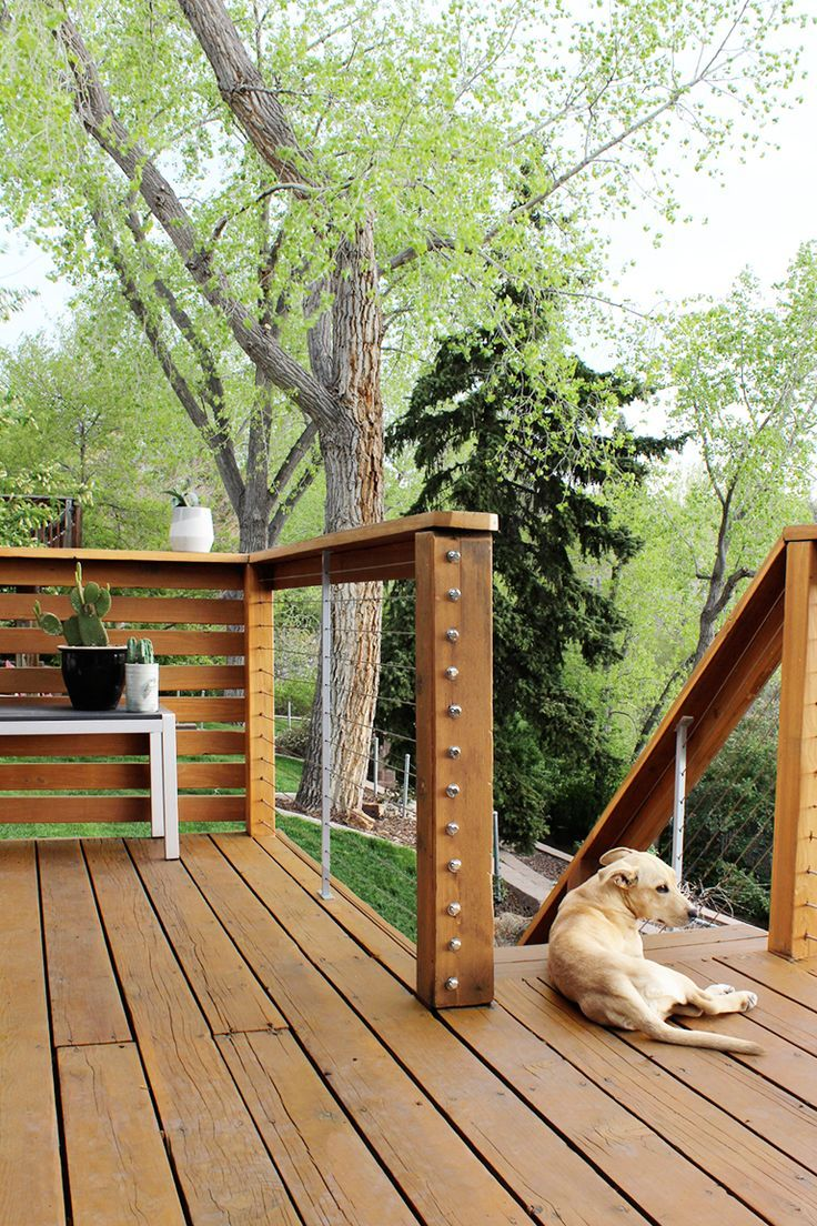17+ Creative Deck Railing Ideas for Your Beautiful Porch