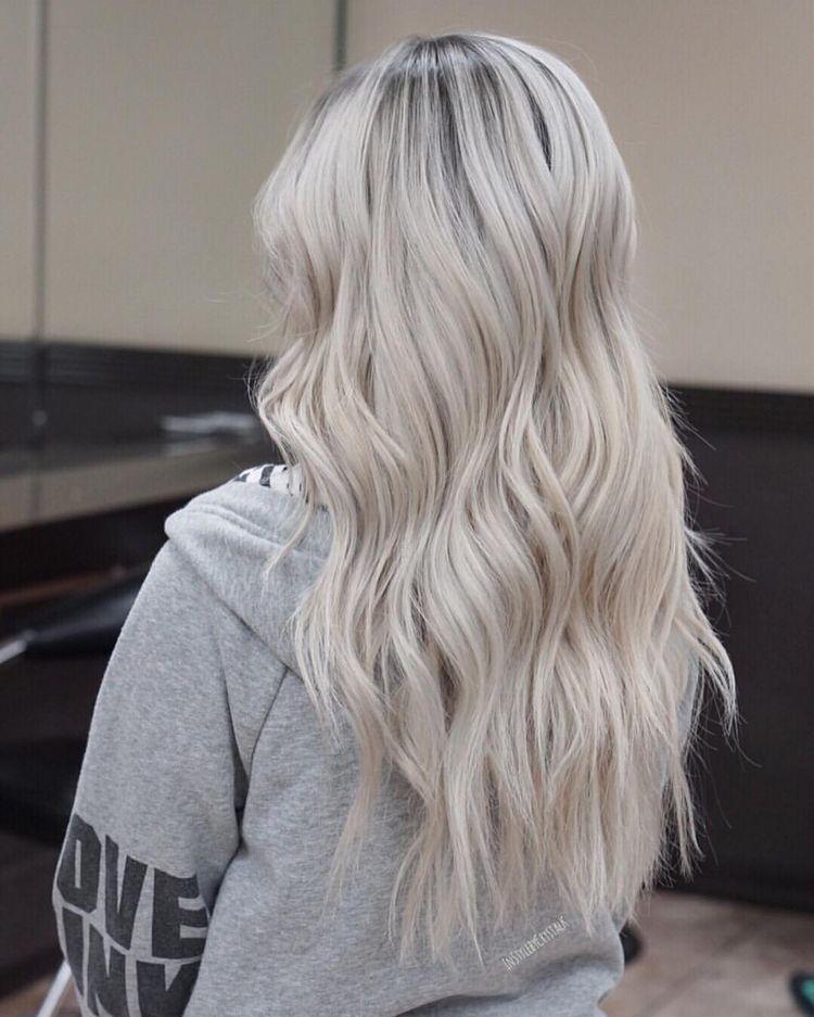 2019 Coolest Hair Color Trends Ecemella Hair Styles Platinum Blonde Hair Long Hair Styles