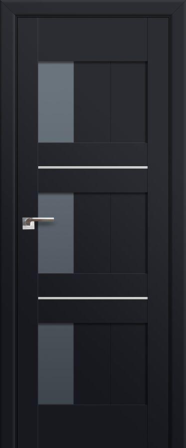 Milano-35U Black mat Most beautiful doors Pinterest Puertas - puertas interiores modernas