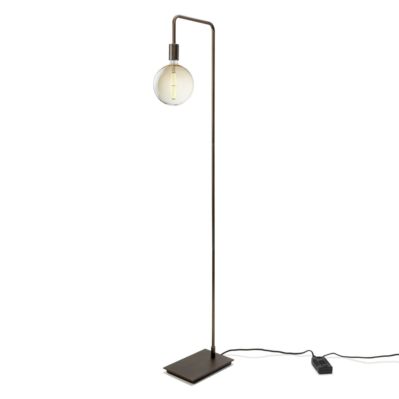 Bronze Floor Lamp For Living Room – Mid Century Modern 640 x 480