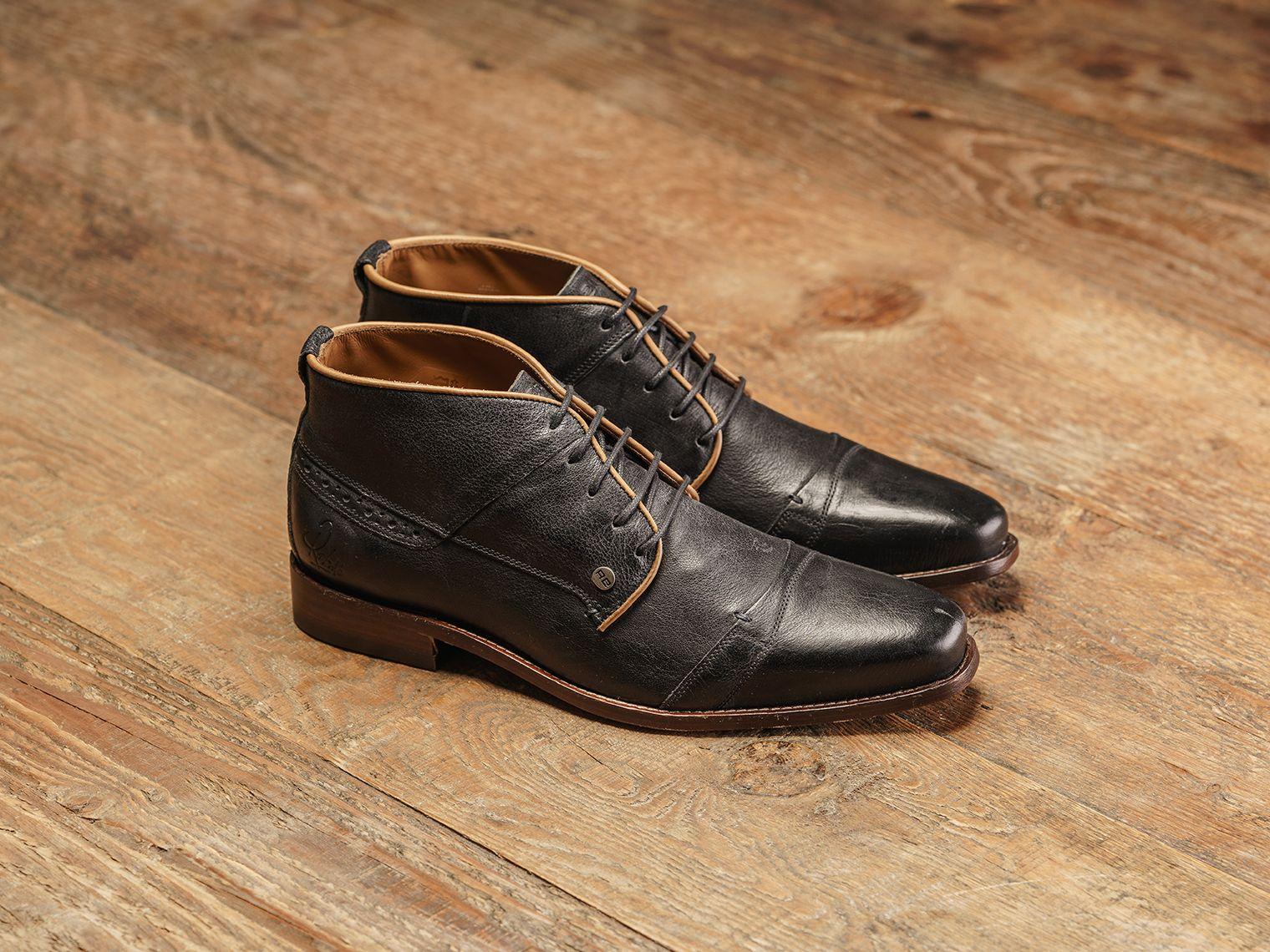 REHAB Lector Nero #rehabfootwear #lector #nero #menshoes #qualityshoes #buffalo #leather #lionprint #classy #stylish #neveroutofstyle