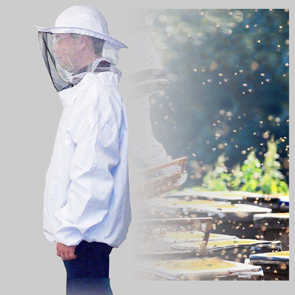 0,87 € 20% DE RÉDUCTION La sécurité efficace empêche les piqûres d'abeille Costume de protection de l'apiculture Veste de protection Costume de voile avec pull-over Hat Smock Equipment Gadget | AliExpress   – crochet pour masque