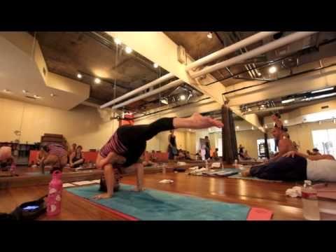 yoga tips with christina sell  ekapada galavasana from