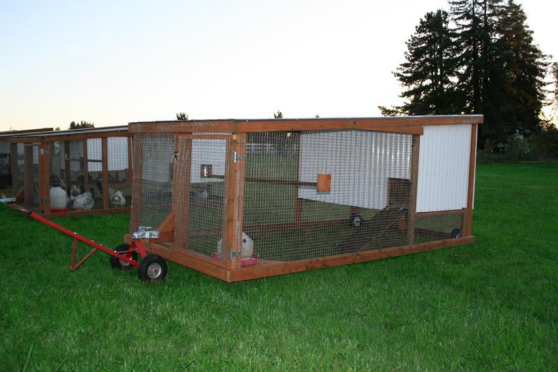 40 best chicken coop design awesome backyard poultry for Mobile chicken coop plans