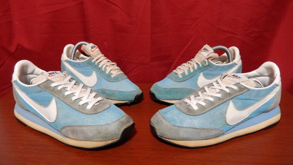 hot sale online 942b8 addc3 VTG OG Nike Running Shoes Lot Made in USA sz 5 and 7 Rare Waffle Sole
