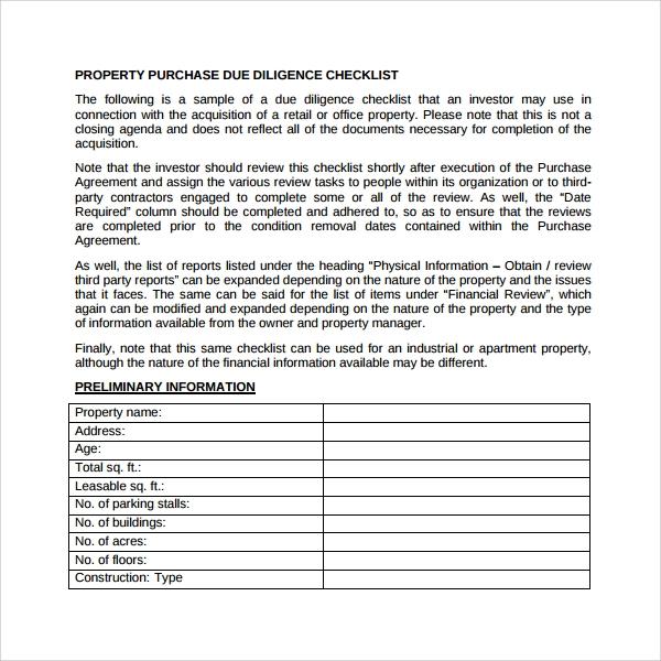 Vendor Due Diligence Report Template 7 Templates Example Templates Example Checklist Template Report Template Pamphlet Template