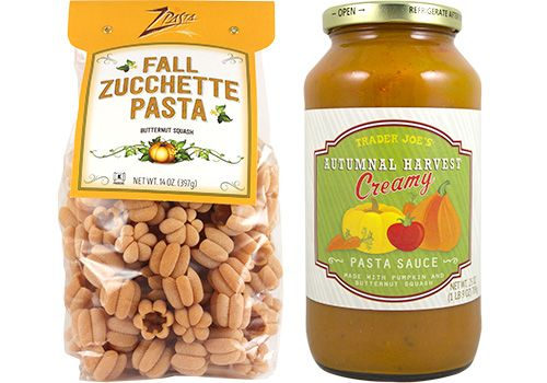 Autumnal Harvest Pasta Sauce And Zucchette Pasta Trader Joes Creamy Pasta Sauce Trader Joes Recipes