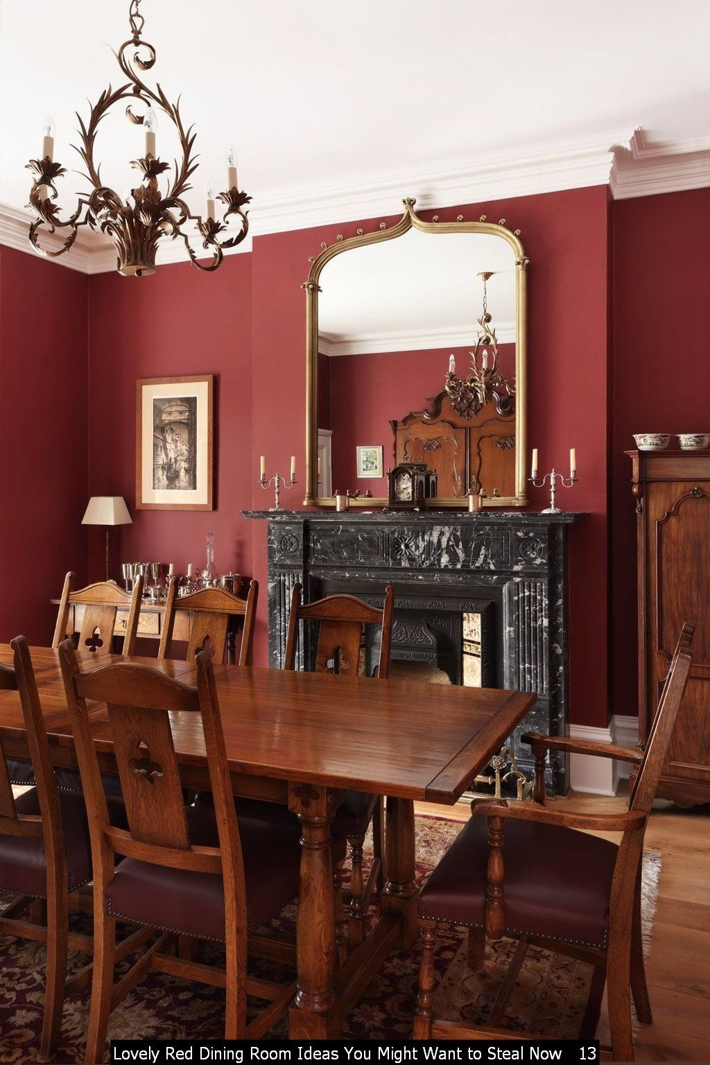 101 Lovely Red Dining Room Ideas You Might Want To Steal Now In 2020 Red Dining Room Dining Room Dining