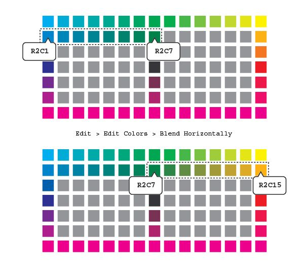 How To Create A Wide Range Of Custom Color Swatches In Illustrator Tuts Design Illustration Tutori Color Swatches Pantone Color Book Illustrator Tutorials
