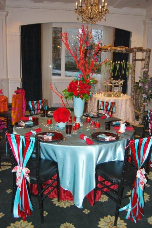 Turquoise and red has been more popular than ever this ...