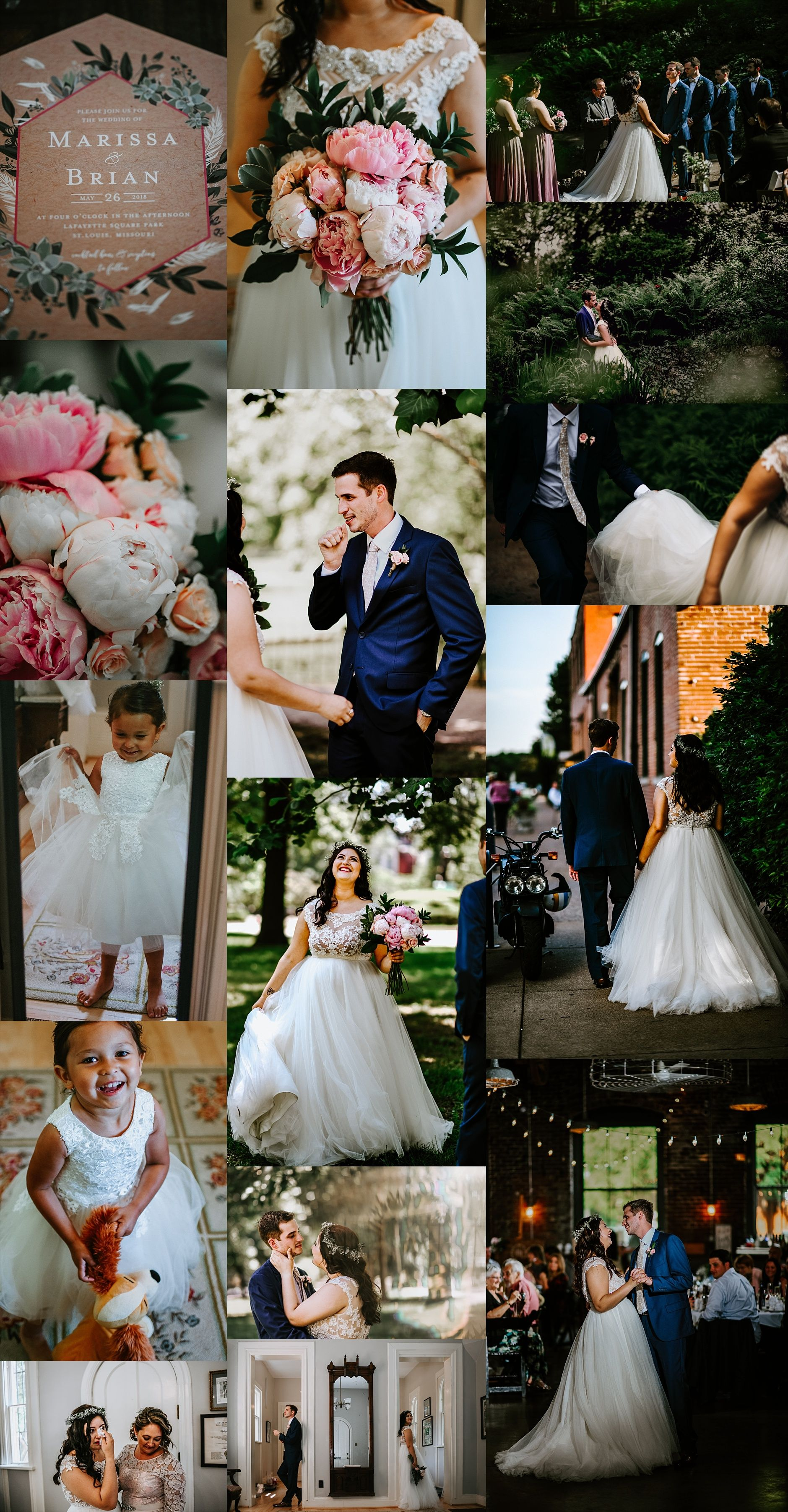 Lafayette Square Park Fun And Romantic Outdoor Wedding St Louis