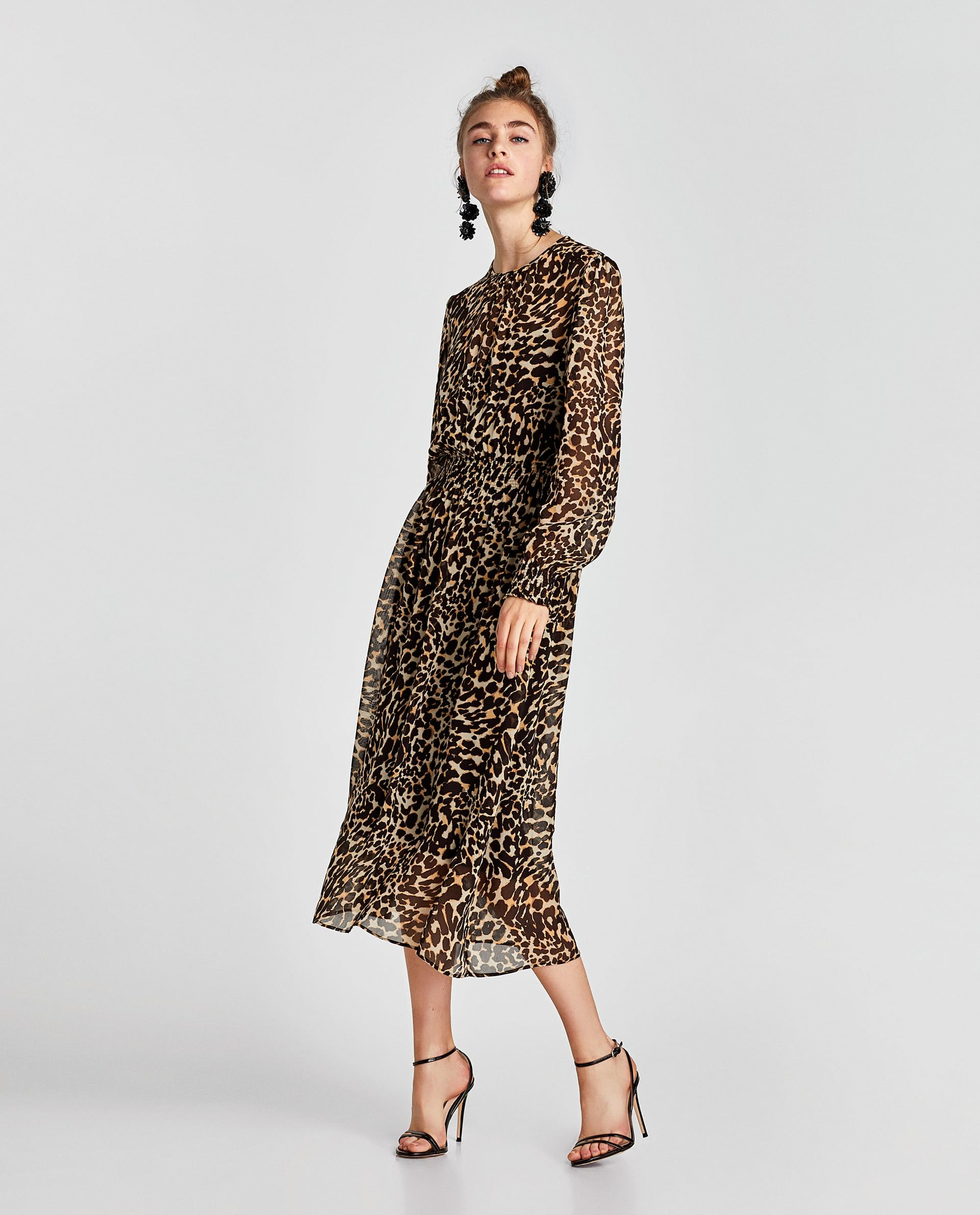 d70cd7272b13d7 ZARA - WOMAN - ANIMAL PRINT DRESS