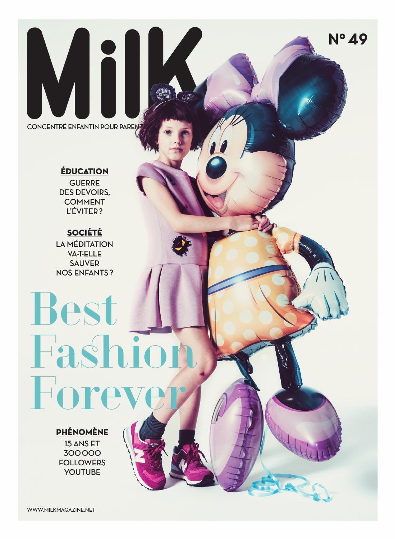 Milk # 49 - Best Fashion Forever | Milk magazine, Magazines for kids,  Magazine design cover