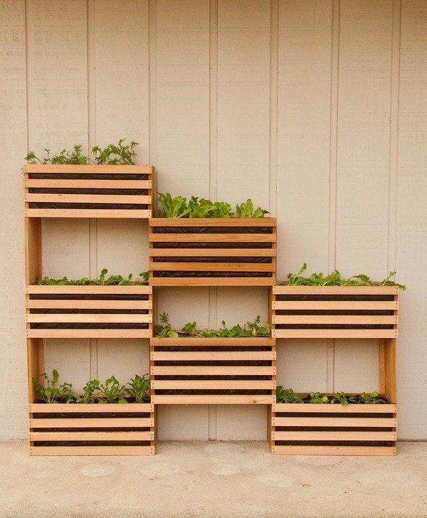 19 Inspiring Diy Pallet Planter Ideas Вегетарианские 640 x 480