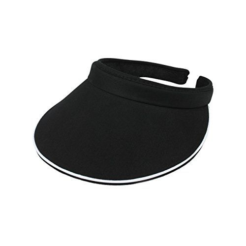 Cotton Twill Clip on Athletic Visor