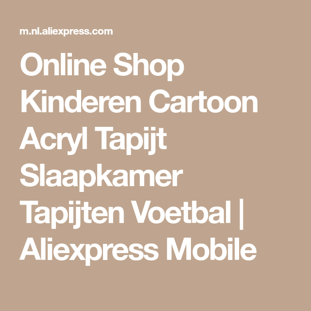Online Shop Kinderen Cartoon Acryl Tapijt Slaapkamer Tapijten ...