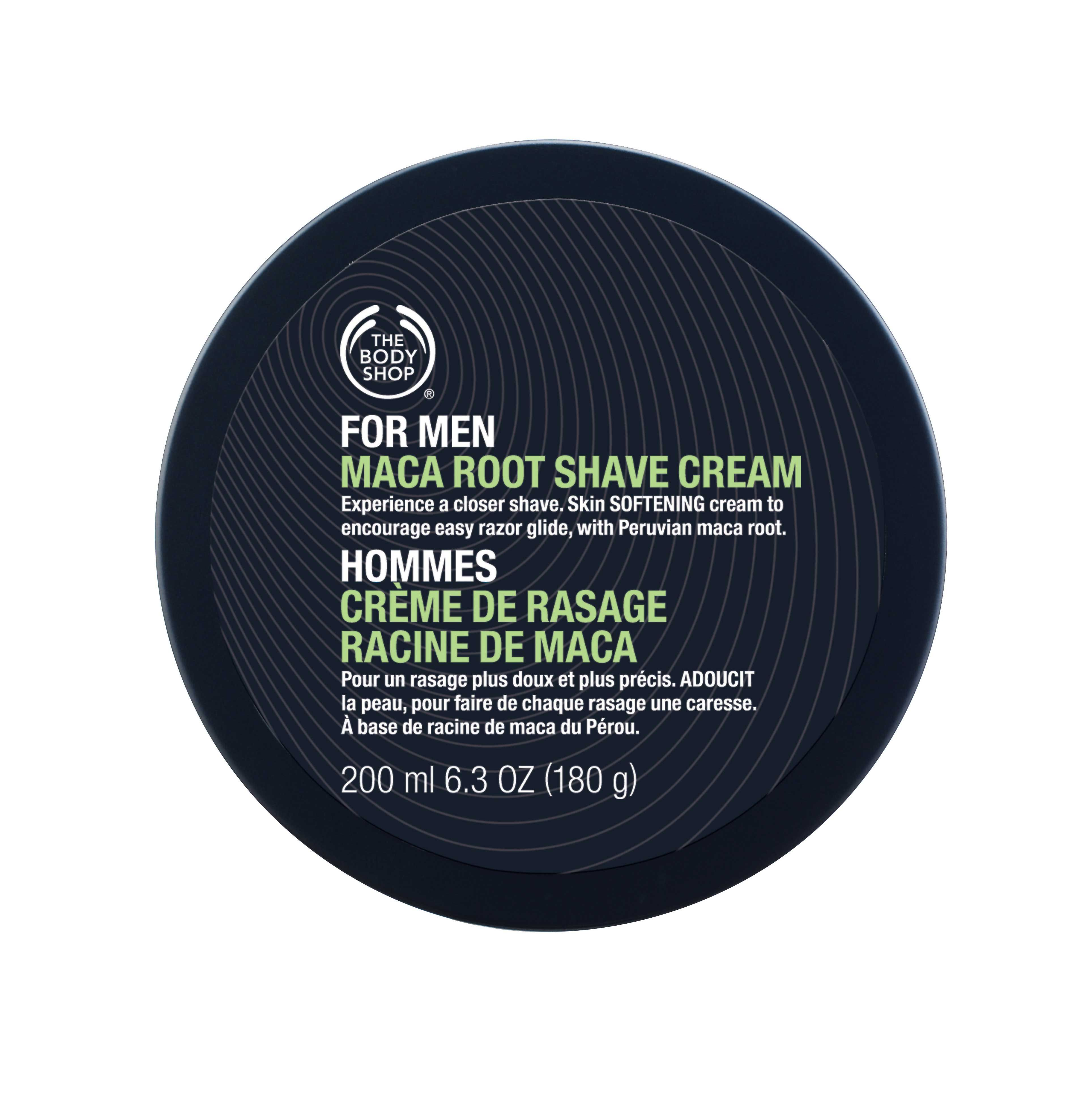 The Body Shop  Maca Shave Cream  $28.00