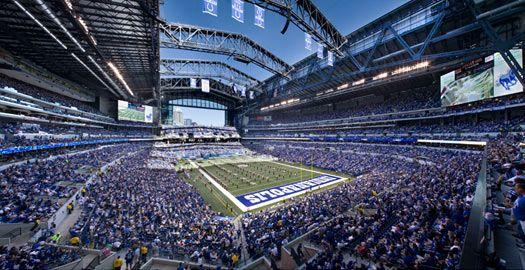 We Love Our Sea Of Blue Lucas Oil Stadium Stadium Indianapolis
