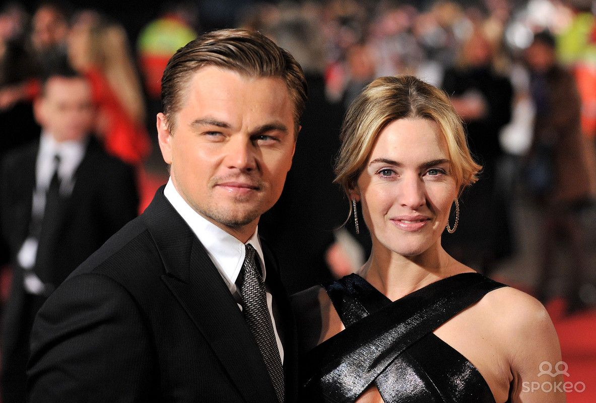Leonardo DiCaprio and Kate Winslet Revolutionary Road UK film premiere held at the Odeon Leicester Square - Arrivals