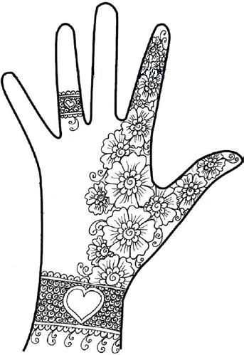 Pin By Becky Worstell On Color Zentangle Simple Henna Designs Hand Mehndi Designs Book Simple Henna