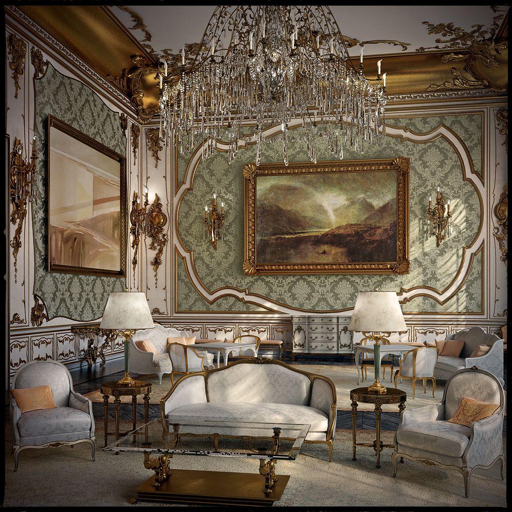 french interior design Second Empire Rococo