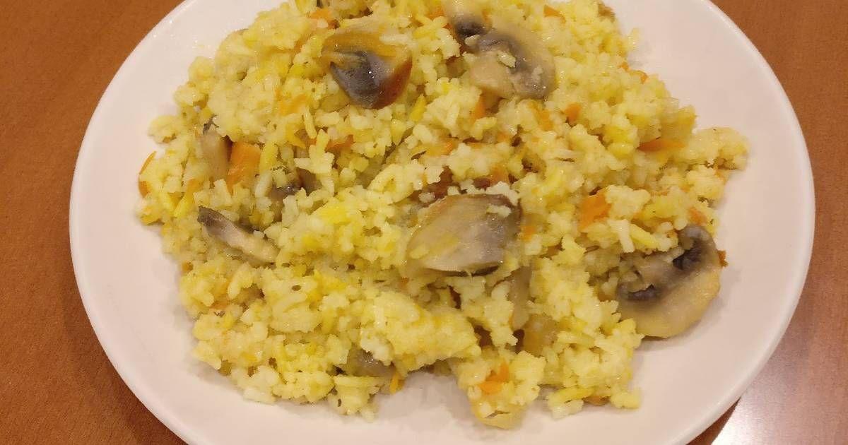 Плов с грибами в мультиварке   Рецепт   Еда, Идеи для блюд ...