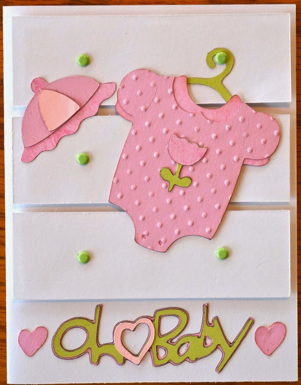Cricut Crazy Scrapper: Oh Baby card (for BBTB2)
