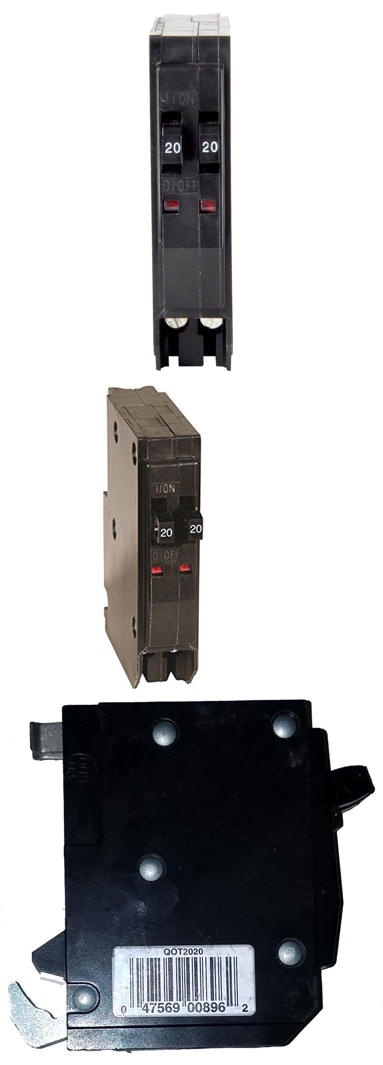 medium resolution of circuit breakers and fuse boxes 20596 square d qo 20 amp 1 pole tandem circuit breaker buy it now only 15 on ebay circuit breakers boxes square