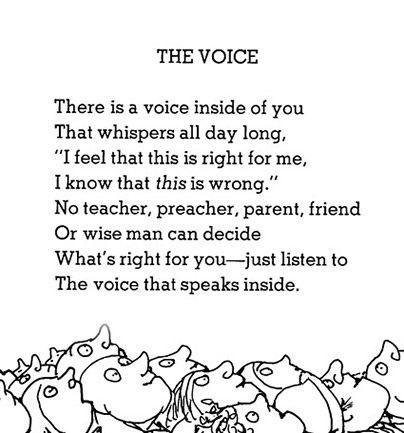 Shel Silverstein's The Voice