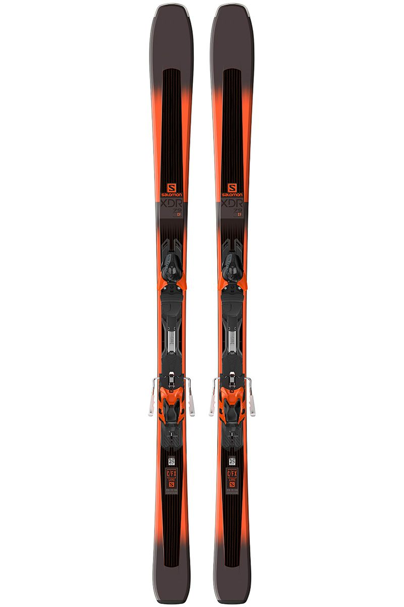 Salomon Xdr 79 Cf Xt 10 Ski 2018 Skiing Alpine Skiing Salomon Skis