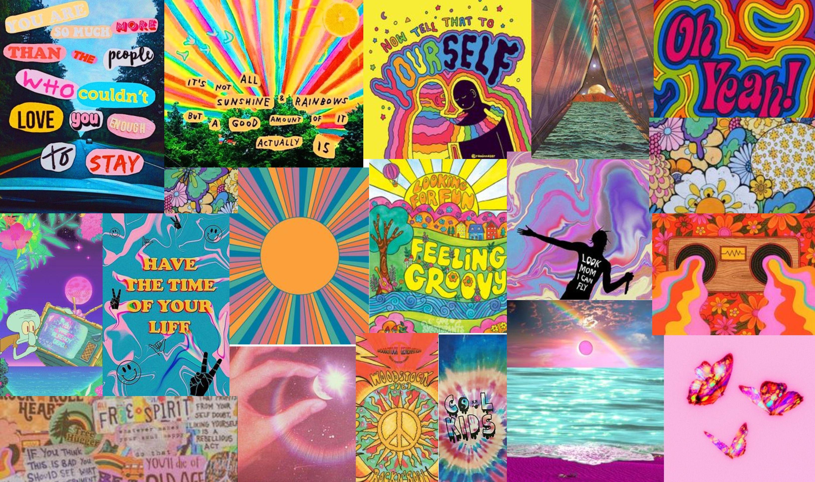 Trippy Aesthetic Cute Laptop Wallpaper Laptop Wallpaper Desktop Wallpaper Art