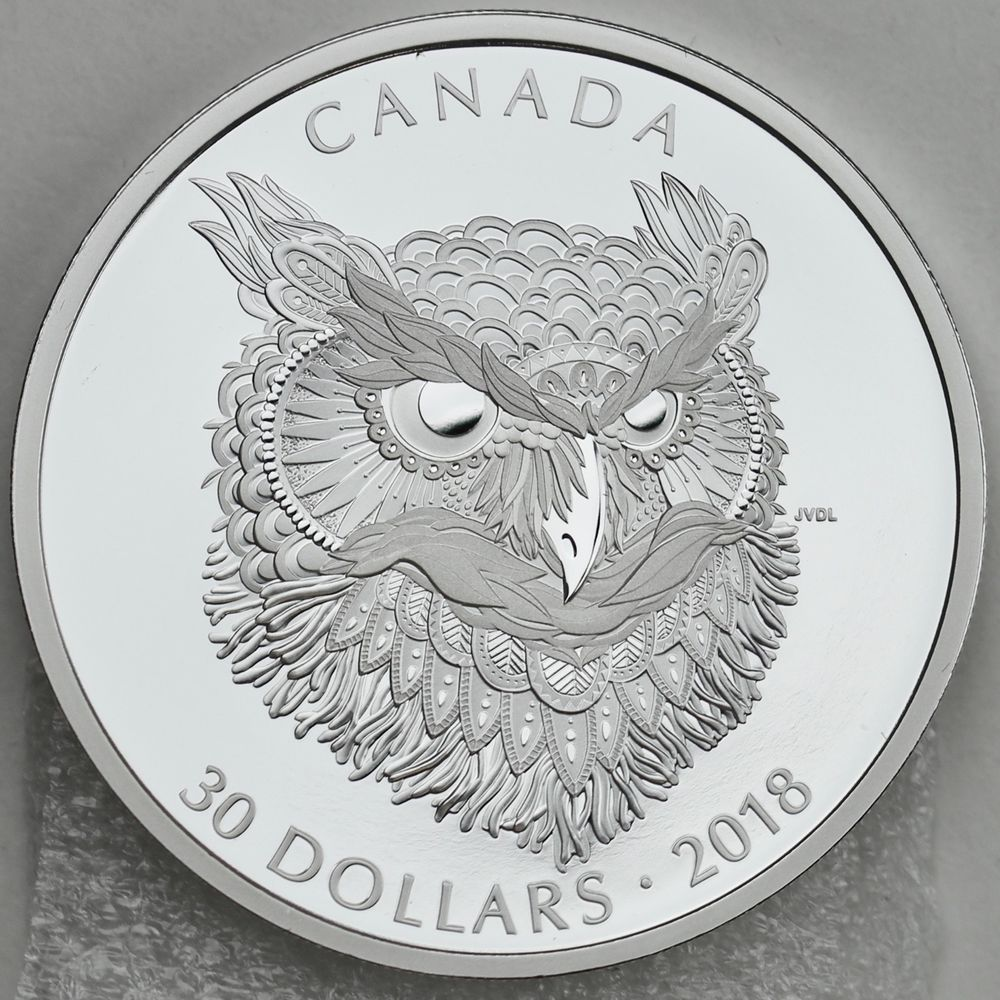Fine Silver $10 Matte Proof Coin Canada 2013 Canadian Holiday Season 1//2 oz