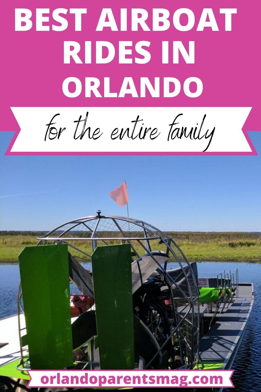 Orlando Airboat Tours Things To Do Orlando Orlando Activities Orlando Florida