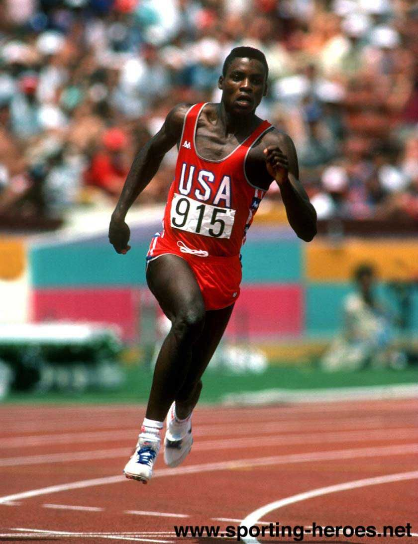 Carl Lewis 1984 Los Angeles Olympics Add Around The Rings On Www Twitter Com Aroundtherings Www Facebook Com Aroundthe Carl Lewis Athlete Olympic Athletes