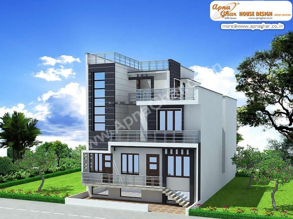 6 bedrooms duplex house design in 390m2 (13m x 30m) .click link