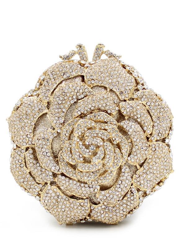 Laceshe Women S High End Luxurious Handbag Evening Bags Wedding