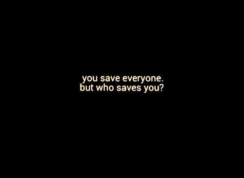 Chi salva te?