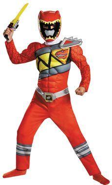 Red Ranger Dino Classc Mus 4-6