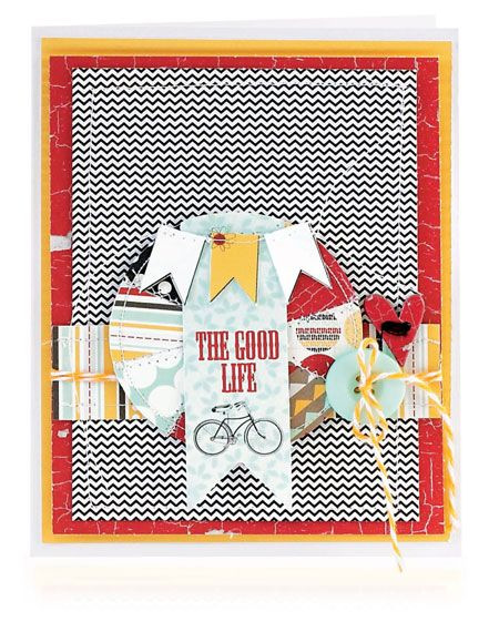 The Good Life Card by Marielle LeBlanc #SCTSummer2013