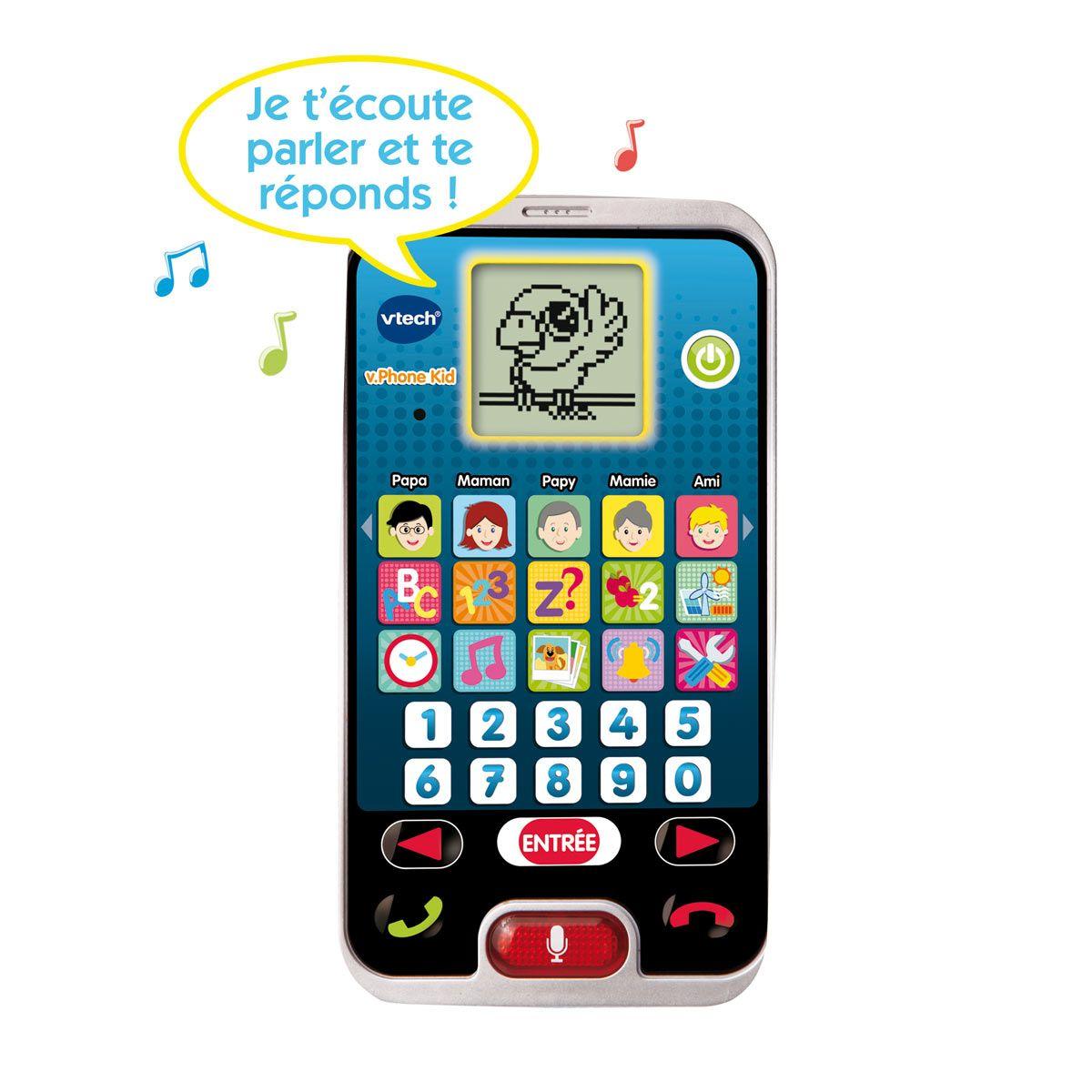 Premier Telephone Interactif Pour Petits Vtech Pour Enfant