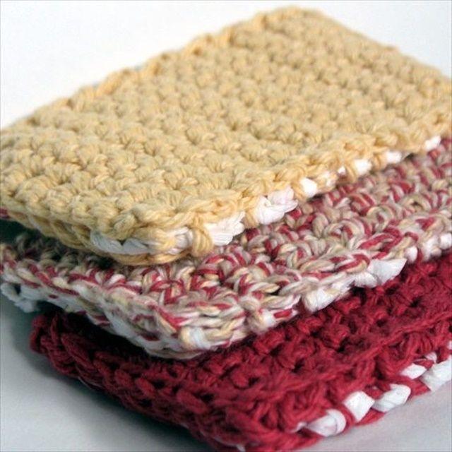 13 Dishcloths & Scrubbies Crochet Patterns | Cuadrados y Coser
