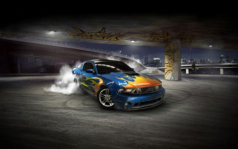 Ferrari Racing Car D HD Desktop Wallpaper High Definition - Cool 3d cars wallpapers