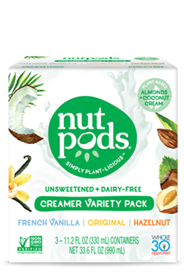 nutpods Dairy Free Coffee Creamer No Sugar, Whole30, Paleo