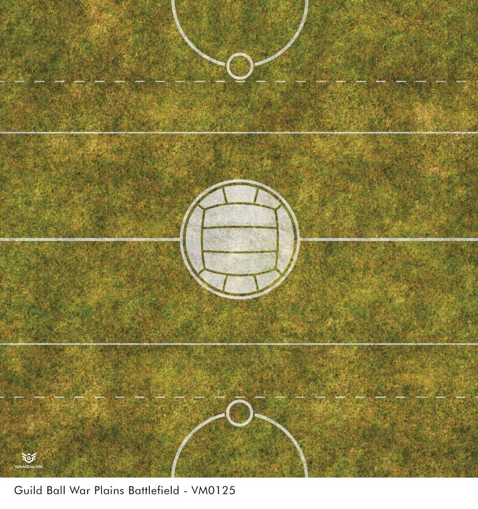 Guild Ball War Plains Battlefield Vinyl Game Mat Guild Ball Mats